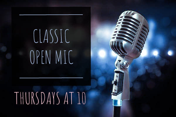 Classic Open Mic Live Music Big Bamboo Cafe Hilton Head