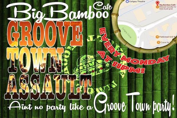 Groove Town Assault Live Music Big Bamboo Cafe Hilton Head Island