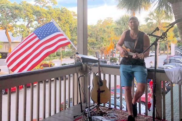 Ben Lewis live music at Big Bamboo Cafe Hilton Head
