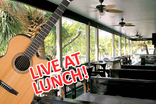 Johnny Breeze live music at Big Bamboo Cafe Hilton Head